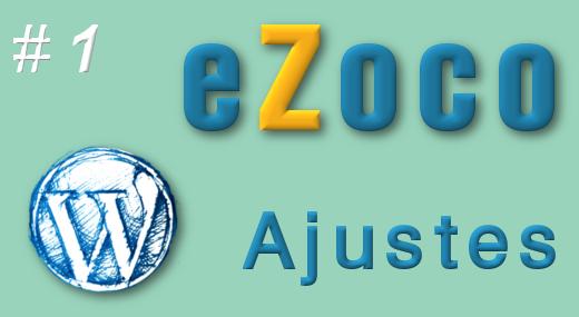Ajustes de la web para eZoco