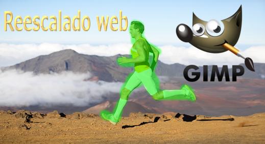 Reescalado de imagen con GIMP