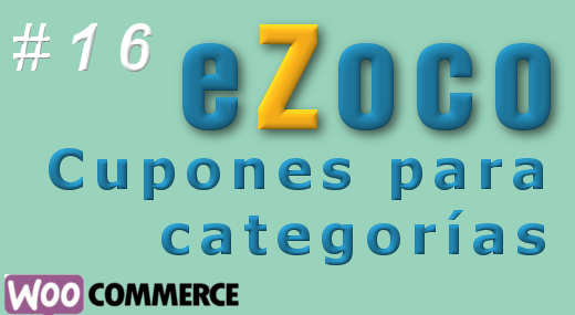 Cupones para categorías en eZoco