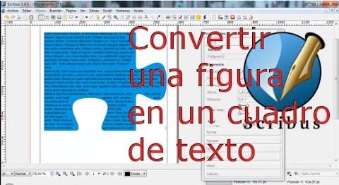 Cómo convertir una figura en un cuadro de texto