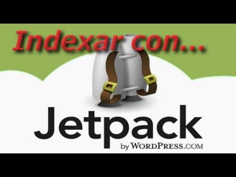 Idexar en Google con Jetpack