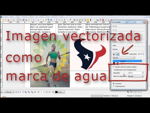 Texto con imágenes y marcas de agua