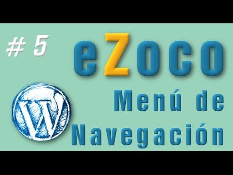 Menu para eZoco