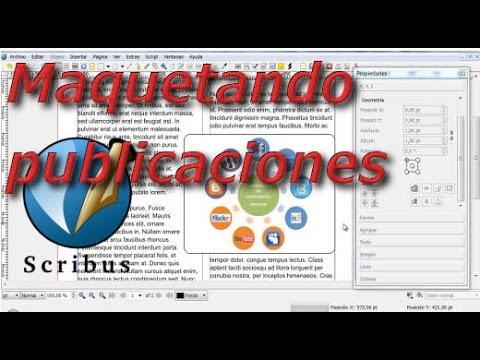 Maquetando publicaciónes con Scribus