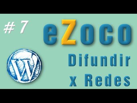 Difundir a Redes Sociales - eZoco