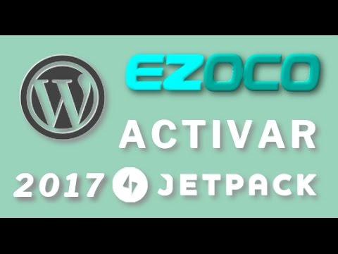 Activar jetpack 2017 en EZOCO