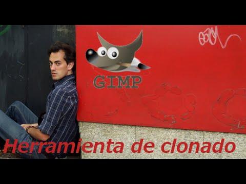 Herramienta para clonar con GIMP