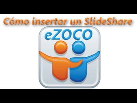 Insertar una presentación en eZoco