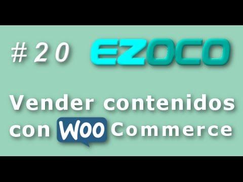 vender contenidos con woocommerce